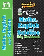 Key Stage 2 Gold Stars Maths, English and Science Big Workbook Ages 9-11