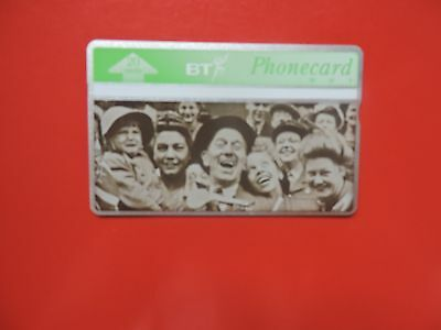 Bta 093 Liberation Of Europe - W.h.smith Mint  Phonecard Collectors Item