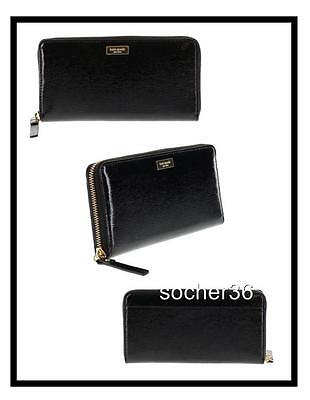 Kate Spade Bixby Place Neda Mulled Wine Patent Leather Wallet NWT $145 MSRP!