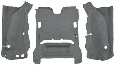 2007-2010 Jeep Wrangler Carpet Replacement - JK - Cargo Area - Cutpile|Fits: 2DR