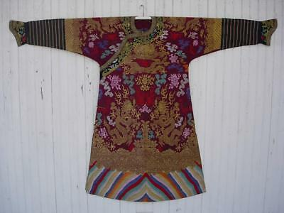 A Fine Antique Chinese Silk Brocade Formal Court Robe, Private Collection