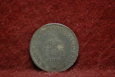 Hungary, 1918 20 Filler, EF, some rust, No Reserve,                          6eb