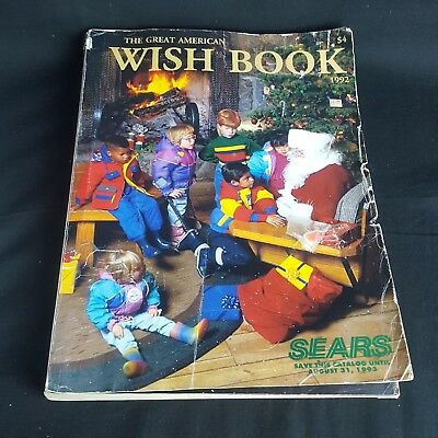 Vtg SEARS ROEBUCK CATALOG ~ THE GREAT AMERICAN WISH BOOK ~ 1993 CHRISTMAS TOYS