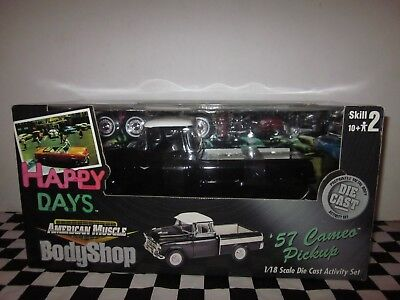"""Ertl American Muscle 1:18 Scale 1957 Chevy Cameo Pick-Up Truck """"happy Days"""" Rare"""