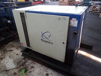 Quincy QSB 30  30 hp. Rotary Screw Air compressor, 1yr.  Airend Warranty