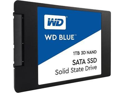 "Western Digital WD Blue 1TB 2.5"" SATA Internal Solid State Drive SSD"