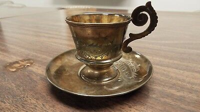 Imperial Russian coffee cup 84 sterling