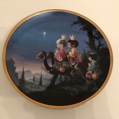 Precious Moments Bible Story Plate Collection Plate Number 1147 G