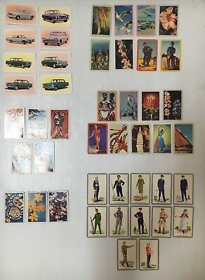 GOLDEN FLEECE SWAP CARD LOT OF 45 FROM 6 DIFFERENT SETS FROM 1960's