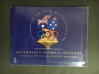 Olympic Games Australia's Olympic History Poster Collection 1896-2000 Herald Sun