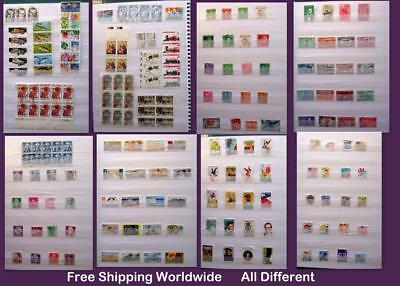 Stamp Mix From United States All Different Free Shipping Worldwide