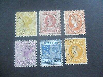 Victoria Stamps: CTO Selection - Great Mix of Items  (a31)