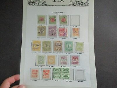 South Australia Stamps: Selection on page  - Great Items  (a88)
