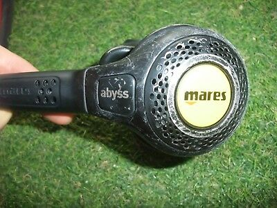 MARES ABYSS EXTREME 2nd stage  OCCY scuba diving dive 2nd stage regulator -
