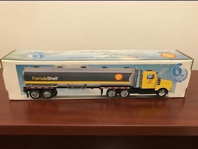 Brand New Limited Edition FORMULA SHELL Toy Tanker in Original Box