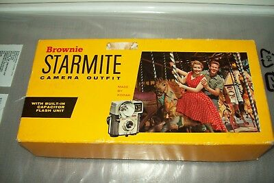 Kodak Brownie Starmite Boxed vintage 127 film camera
