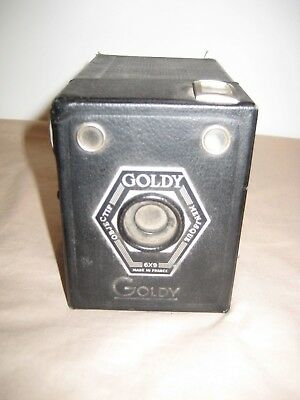 Vintage Goldy Box Camera