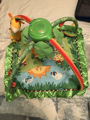 Fisher-price Rainforest Music & Lights Deluxe Gym Playmat