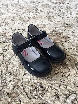 Bo-Bell Girls Navy Patent Leather Shoes Size EU 26 UK 8.5 Infant