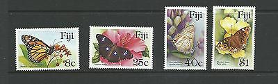 1985 Butterflies Complete set of 4 MUH/MNH SG 693 - 696 as sold at PO