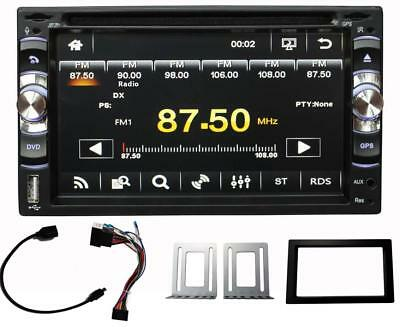 Media player 6228 stereo auto DVD CD radio touch 16:9 entrata USB AUX micro SD