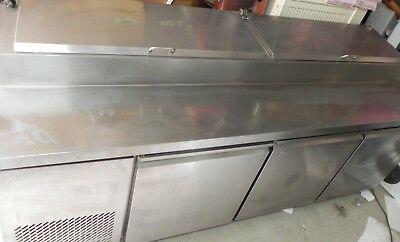 Commercial Refrigerated PIZZA Make Bench + extras