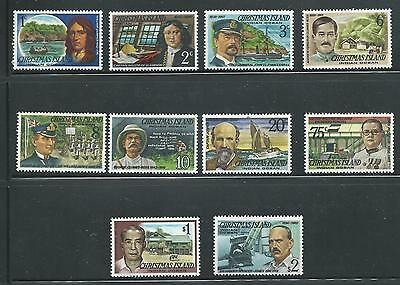 1977 Famous Visitors Part set of 10 to $2 All Complete MUH/MNH Value Here