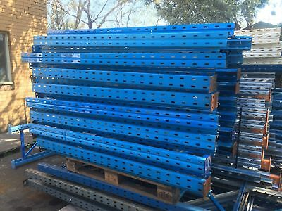 DEXION Pallet Racking Frame 6.4m (GENUINE), 600mm preowned Bargain Price