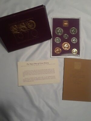 1970 Proof Set Coinage of Great Britain and Northern Ireland