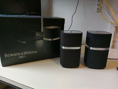 Bowers and Wilkins B&W MM-1 MM1 PC Desktop Speakers Great Condition