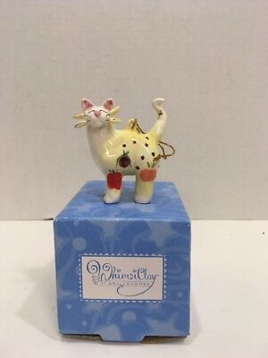 Amy Lacombe 2002 Whimsical Cat Ornament Annaco Creations