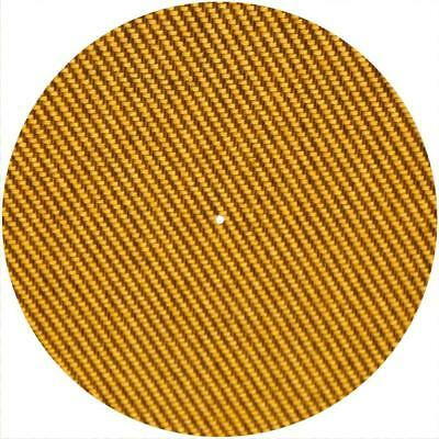 Slipmat Slip Mat Scratch Pad Felt for any 12 LP DJ Vinyl Turntable Record Player Custom Graphical Lady In Flame