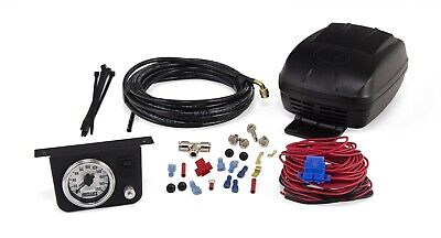 Air Lift Bag Control Kit Guage Switch Compressor 25804