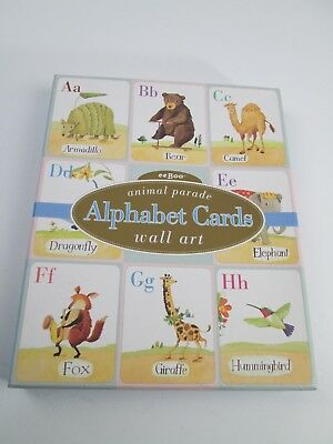 "EeBoo Animal Parade Alphabet Cards Wall Art by Melissa Sweet size 8"" x 10"""