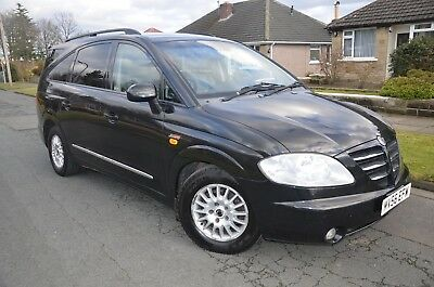 2007 Ssangyong Rodius 270 SX 2.7 TD AWD (4x4 4WD) Diesel 7 seater Automatic PX