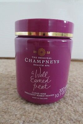 Champneys Cloud Nine Indulgent Bubble Heaven Bubble Bath 300ml NEW