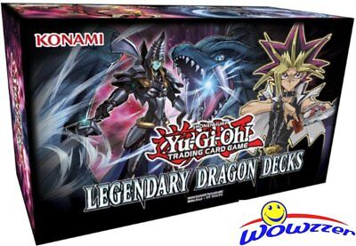 Yugioh Legendary Dragon Decks Factory Sealed 15 Box CASE-1,836 Cards! Loaded!