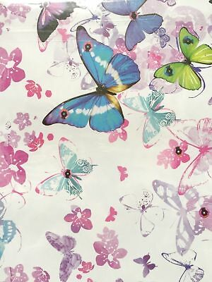 BUTTERFLY  2 x sheets Gift Wrap and Tags by Simon Elvin