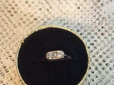 Art Deco Antique 18KT Diamond Ring