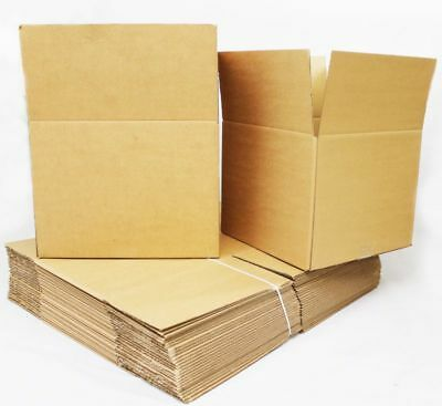 Cardboard Boxes Single Wall Packing Cartons Storage Removals Mailing Post Box