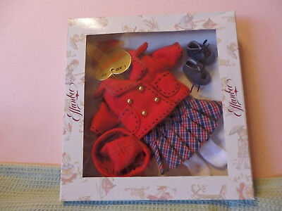 """Effanbee Patsyette """"winter Chill"""" Costume Py8304 For The 9"""" Doll Brand New"""