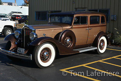 1933 Packard Model 1001  1933 Packard Eight 1001 Sedan
