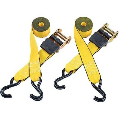 Clarke CHT756 3m Heavy Duty Ratcheting Tie Down (Twin Pack) 1801756