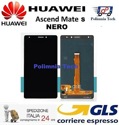 DISPLAY HUAWEI MATE S  NERO - DISPLAY LCD + TOUCH SCREEN - GLS 24h