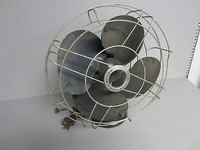 Vintage Robbins & Meyers Oscillating Electric Fan 24004A Works - Parts or Repair
