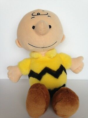 """Charlie Brown Plush Toy 12"""" Peanuts Cedar Fair Collectible New without tags"""