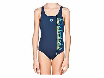 Costume Intero Junior Arena  2A722 76  G Floater Jr One Piece Navy Leaf