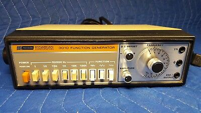BK PRECISION DYNASCAN CORPORATION 3010 Function Generator - USED