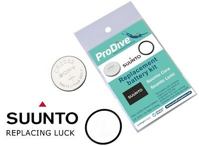 Suunto Core Series & Lumi T4 T3 T1 Replacement Watch Battery Kit