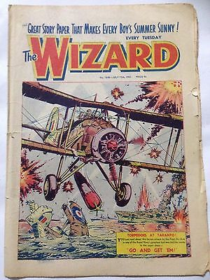 DC Thompson. THE WIZARD Comic July 15th 1961. Issue 1848 *Free UK Postage*